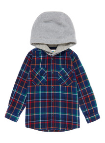 Boys Multicoloured Shirt With Hood (9 months-5 years)