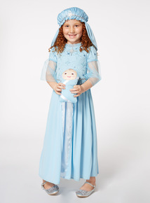Christmas Mary with Baby Costume (3-10 years)