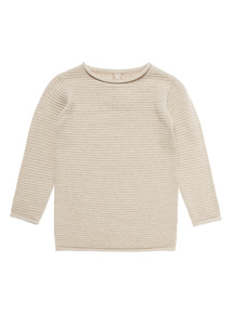 Beige Knitted Jumper (3-14 years)