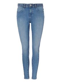 Two Tone Denim Skinny Jeans