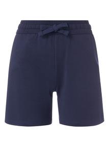 Navy Basic Shorts