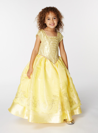 All Girl S Clothing Yellow Disney Belle Costume 3 10