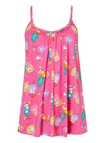 Flamingo Print Vest