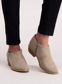 Online Exclusive Sole Comfort Grey Ankle Boot