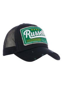 Online Exclusive Russell Athletic Black Trucker Cap