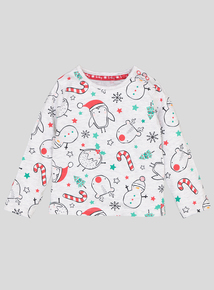 Christmas Robin Top (0-24 Months)