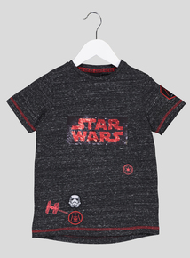 Star Wars Grey T-Shirt (4-14 Years)