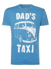 Father's Day 'Dad's Taxi' Volkswagen T-Shirt