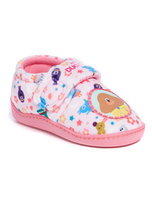 Pink Hey Duggee Full Slippers