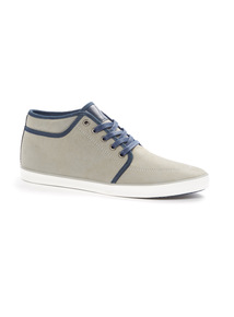 Grey High Top Shoes