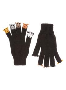 Cat Finger Puppet Glove
