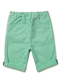 Green Chino Shorts (9 months-6 years)