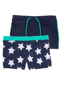 Swim Shorts 2 Pack (1-12 years)