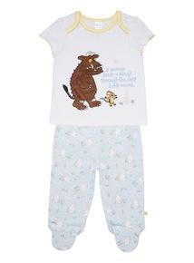 White Gruffalo Pyjama Set (0 - 24 months)