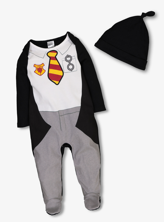 585fdf3cf License   Character Shop Multicoloured Harry Potter Sleepsuit   Hat ...