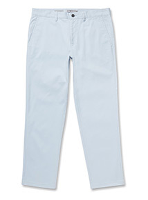 Online Exclusive Blue Straight Leg Chinos