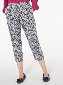Floral Capri Trousers