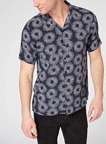 Navy Spiral Shirt