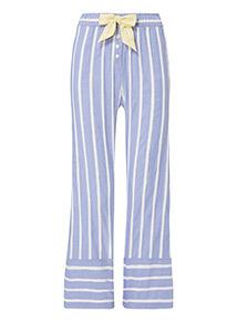 Chambray Stripe Full Leg Pyjama Bottoms
