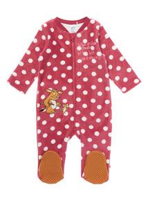 Pink Gruffalo Fleece All-in-One (0-24 months)