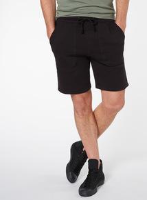 Black Slim Fit Shorts