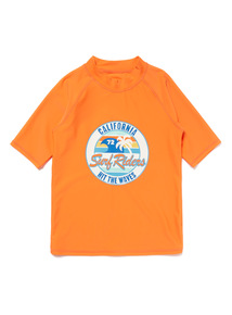 Orange California Rash Vest (3-12 years)