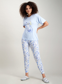 ed57f4666f Disney Alice In Wonderland Blue Pyjamas