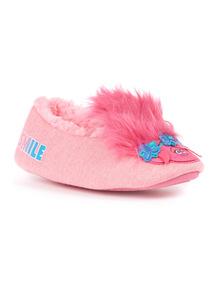 Pink Trolls Ballerina Slipper (6 Infant - 2)