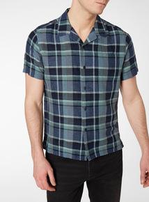 Check Linen Rich Shirt