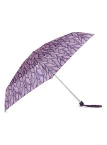 Feather Print Mini Umbrella