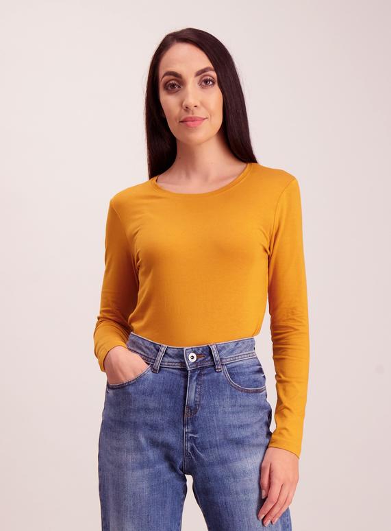 1db08283b Womens Yellow Long Sleeve T-Shirt   Tu clothing