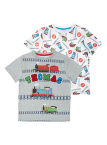 Multicoloured Thomas The Tank Tees 2 Pack (9 months - 6 years)