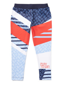 Multicoloured Track and Field Dance Leggings (3-14 years)