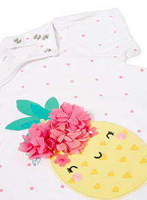 Multicoloured Pineapple T-Shirt (0-24 months)