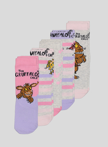 The Gruffalo's Child Multicoloured Socks 5 Pack (3-12 Infant)