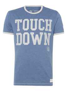 Blue NFL Touch Down Tee