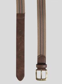 Stone Stripe Canvas Belt
