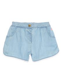 Denim Chambray Shorts (9 months - 6 years)