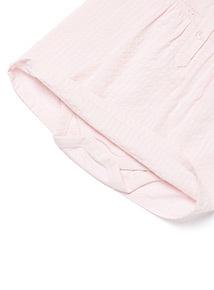 Pink Woven Dress (0-24 months)