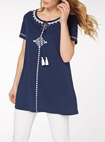 Stitch Tunic Dress