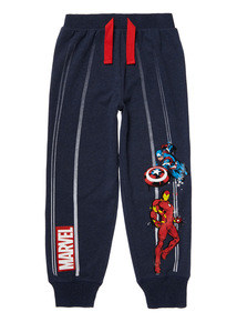 Navy Marvel Avengers Lounge Trousers (3 - 12 years)
