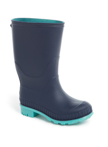Navy Wellies (6 Infant-4 Child)