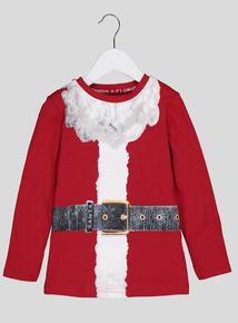 Santa Body Long Sleeve Top (1-12 Years)