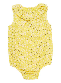 Yellow Daisy Bodysuit (0 - 24 months)