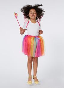 Girls Multicoloured Fairy Costume (2-10 years)