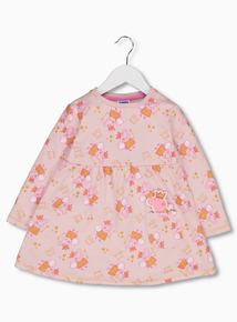 Peppa Pig Pink Jersey Dress (1-5 Years)