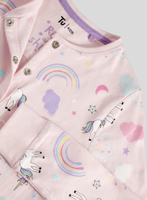 Pink Rainbow Unicorn All in One (2-12 years)