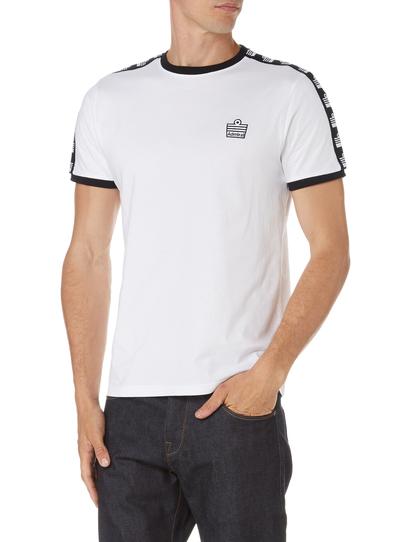 mens admiral white ringer t shirt tu clothing