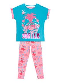 Blue Trolls Pyjama Set (3 -14 years)