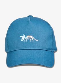 5eac7bce9ac Blue Dinosaur Motif Cap (1- 13 years)